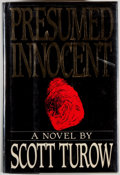 Books:Mystery & Detective Fiction, Scott Turow. SIGNED. Presumed Innocent. New York: FarrarStraus Giroux, [1987]. First edition, first printing. ...