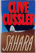 Books:Mystery & Detective Fiction, Clive Cussler. SIGNED. Sahara. New York: Simon &Schuster, [1992]. First edition, first printing. Signed by Cu...