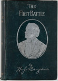 Books:Americana & American History, William J. Bryan. The First Battle: A Story of the Campaign of1896. Chicago: Conkey, [1896]. Octavo. 629 pages....