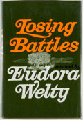 Books:Fiction, Eudora Welty. SIGNED. Losing Battles. New York: RandomHouse, [1970]. First edition, first printing. Signed by Wel...