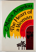 Books:Fiction, Maya Angelou. SIGNED. The Heart of a Woman. New York: RandomHouse, [1981]. First edition, first printing. Sig...