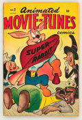 Golden Age (1938-1955):Funny Animal, Animated Movie-Tunes #2 (Timely, 1946) Condition: FN....
