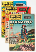 Golden Age (1938-1955):Classics Illustrated, Classics Illustrated First Editions Group (Gilberton, 1948-53)Condition: Average GD.... (Total: 15 Comic Books)