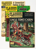 Golden Age (1938-1955):Classics Illustrated, Classics Illustrated Group (Gilberton, 1943-50) Condition: Average VG/FN.... (Total: 13 Items)