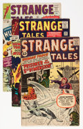 Golden Age (1938-1955):Horror, Strange Tales Group (Marvel, 1962-65) Condition: Average VG+....(Total: 8 Comic Books)