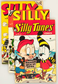 Golden Age (1938-1955):Funny Animal, Silly Tunes #5-7 Group (Timely, 1947).... (Total: 3 Comic Books)