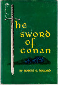 Books:Science Fiction & Fantasy, Robert E. Howard. The Sword of Conan. New York: Gnome, [1952]. First edition, first printing. Octavo. 251 pages....