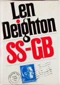 Books:Mystery & Detective Fiction, Len Deighton. SS-GB. New York: Knopf, 1979. Second printing.Octavo. 343 pages. Publisher's binding and dust jacket....