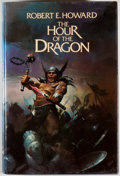 Books:Science Fiction & Fantasy, Robert E. Howard. The Hour of the Dragon. New York: Berkeley, [1977]. First hardcover edition, first printing. Octav...