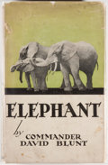 Books:Natural History Books & Prints, David Blunt. BOOKPLATE. Elephant. Boston: Houghton MifflinCompany, 1933. First American edition. With the bookpla...