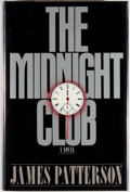 Books:Mystery & Detective Fiction, James Patterson. SIGNED. The Midnight Club. Boston: Little,Brown, [1989]. First edition, first printing. Signed b...