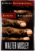 Books:Mystery & Detective Fiction, Walter Mosley. SIGNED. Always Outnumbered, Always Outgunned.New York: Norton, [1998]. First edition, first prin...