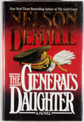 Books:Mystery & Detective Fiction, Nelson DeMille. SIGNED. The General's Daughter. [New York]:Warner Books, [1992]. First edition, first printing....