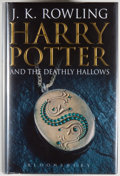 Books:Children's Books, J. K. Rowling. Harry Potter and the Deathly Hallows.[London]: Bloomsbury, [2007]. First edition, first printing. Oc...
