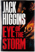 Books:Mystery & Detective Fiction, Jack Higgins. SIGNED. Eye of the Storm. [London]: Chapmans,[1992]. First edition, first printing. Signed by Higgi...