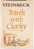 Books:Literature 1900-up, John Steinbeck. Travels with Charley: In Search of America.New York: Viking Press, [1962]. First edition, first pri...