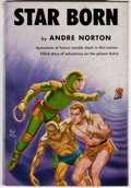Books:Science Fiction & Fantasy, [Jerry Weist]. Andre Norton. SIGNED. Star Born. Cleveland: World Publishing, [1957]. Fifth printing. Signed by Nor...