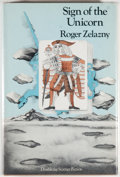 Books:Science Fiction & Fantasy, [Jerry Weist]. Roger Zelazny. Sign of the Unicorn. Garden City: Doubleday, 1975. First edition, first printing. Octa...