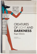 Books:Science Fiction & Fantasy, [Jerry Weist]. Roger Zelazny. Creatures of Light andDarkness. Garden City: Doubleday, 1969. First edition, firstpr...