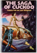 Books:Science Fiction & Fantasy, [Jerry Weist]. Frederik Pohl and Jack Williamson. SIGNED. The Saga of Cuckoo. Garden City: Doubleday, [1975-1983]. B...