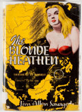Books:Mystery & Detective Fiction, Jim Allen Savage, Jr. The Blonde Heathen. San Antonio:Naylor, [1951]. First edition, first printing. Octavo. 266 pa...