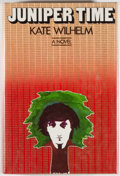 Books:Science Fiction & Fantasy, [Jerry Weist]. Kate Wilhelm. SIGNED. Juniper Tree. New York: Harper & Row, [1979]. First edition, first printing. ...