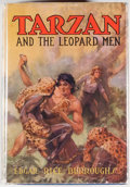 Books:Science Fiction & Fantasy, Edgar Rice Burroughs. Tarzan and the Leopard Men. Tarzana:Edgar Rice Burroughs, [1935]. First edition, first pr...