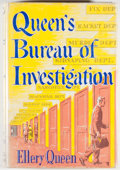 Books:Mystery & Detective Fiction, Ellery Queen. Queen's Bureau of Investigation. Boston:Little, Brown, [1954]. First edition, first printing. Octavo....