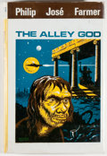 Books:Science Fiction & Fantasy, [Jerry Weist]. Philip Jose Farmer. The Alley God. London: Sidgwick & Jackson, [1970]. First hardcover edition, f...