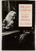 Books:Biography & Memoir, William Everson [subject]. Lee Bartlett. William Everson: TheLife of Brother Antoninus. [New York]: New Directions,...
