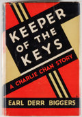 Books:Mystery & Detective Fiction, [Charlie Chan]. Earl Derr Biggers. Keepers of the Keys. NewYork: Grosset & Dunlap, [ca. 1933]. Later edition. Octav...