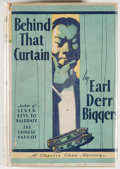 Books:Mystery & Detective Fiction, [Charlie Chan]. Earl Derr Biggers. Behind That Curtain.Indianapolis: Bobbs-Merrill, [1928]. First edition, first pr...