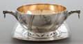 Silver Holloware, American:Bowls, A TIFFANY SILVER AND SILVER GILT TWO-HANDLED BOWL AND UNDERPLATE .Tiffany & Co., New York, New York, circa 1870. Marks:T...