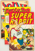 Golden Age (1938-1955):Funny Animal, Miscellaneous Golden Age Funny Animal Comics Group (VariousPublishers, 1950s) Condition: Average FN-.... (Total: 3 ComicBooks)