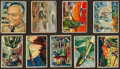 Non-Sport Cards:Sets, 1951 Bowman Jets and Rockets Collection (46) and 1951 Bowman RedMenace (27). ...