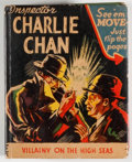 Books:Children's Books, [Big Little Book]. Inspector Charlie Chan: Villainy on the HighSeas. Racine: Whitman, [1942]. Square sixteenmo. 424...