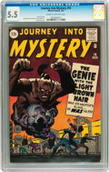 Silver Age (1956-1969):Mystery, Journey Into Mystery #76 (Marvel, 1962) CGC FN- 5.5 Cream tooff-white pages....
