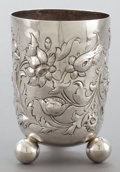 Silver Holloware, British:Holloware, A GEORGE I SILVER BEAKER . Maker unidentified, London, England,1718-1719. Marks: (lion passant), (leopard's head crowned), ...