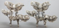 Silver & Vertu:Hollowware, A PAIR OF JAMES DIXON & SONS VICTORIAN SILVER EPERGNES . James Dixon & Sons, Sheffield, England, circa 1899-1900. Marks: (li... (Total: 2 Items)