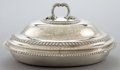 Silver & Vertu:Hollowware, A PAUL STORR GEORGE III SILVER COVERED TUREEN . Paul Storr, London, England, 1811-1812. Marks: (lion passant), (leopard's he...