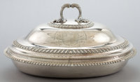 A PAUL STORR GEORGE III SILVER COVERED TUREEN Paul Storr, London, England, 1811-1812 Marks: (lion passant), (l