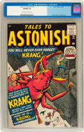 Silver Age (1956-1969):Horror, Tales to Astonish #14 (Marvel, 1960) CGC VG/FN 5.0 Off-white towhite pages....