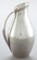 Silver Holloware, Continental:Holloware, A GEORG JENSEN SILVER PITCHER DESIGNED BY JOHANN ROHDE . GeorgJensen, Inc., Copenhagen, Denmark, circa 1930. Marks:GEORG...