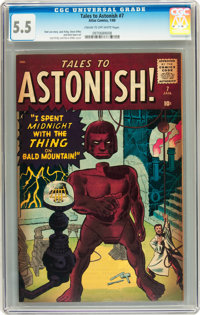 Tales to Astonish #7 (Marvel, 1960) CGC FN- 5.5 Cream to off-white pages