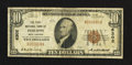 National Bank Notes:West Virginia, Philippi, WV - $10 1929 Ty. 1 The First NB Ch. # 6302. ...