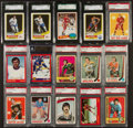 Hockey Cards:Lots, 1965 - 1991 Multi-Brand Hockey Cards Graded Collection (14). ...