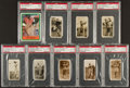 Golf Cards:General, 1920's - 1980'S Golf Card PSA Graded Collection (9) With Hagen. ...