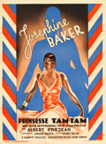 "Movie Posters:Comedy, Princess Tam Tam (Kosmofilm, 1935). Danish A1 (24.25"" X 33.5""). ..."