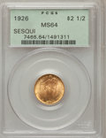 Commemorative Gold, 1926 $2 1/2 Sesquicentennial MS64 PCGS....