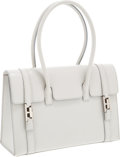 Luxury Accessories:Bags, Hermes 28cm Gris Clair Calf Box Leather Drag Bag with PalladiumHardware. ... (Total: 2 )